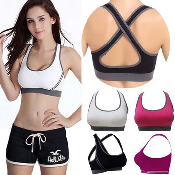 Women Fitness Yoga Stretch Workout Tank Top Seamless RacerbackTank Top = 1933242372
