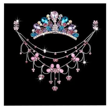 Princess Dress up Accessories Jewelry Set Birthday Party Favor [Butterfly]