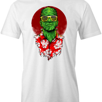 Frankenstein Holiday T-Shirt