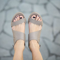 CIJ 20% Sale, Leather Sandals, Handmade Sandals, Wedges, Summer Shoes, Heel Sandals, Strappy Sandals, Brown Sandals, Juliette