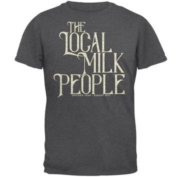 DCCKU3R The Local Milk People Band Chicago Tour Mens T Shirt