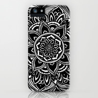 Trippy Flower iPhone & iPod Case by Brenna Whitton