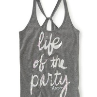 Life Of The Party Racerback Yoga Tank