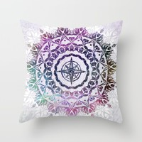 Destination Throw Pillow by Inspired Images