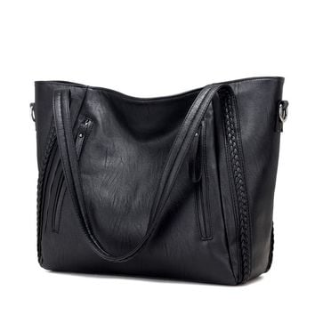 New Pochette Luxury Black Shoulder Bag for Women
