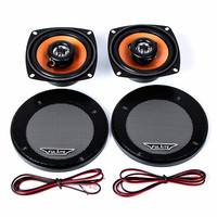 FLT-4230 4-Inch 20W Coaxial High Energy 2-Way High-End SubWoofers Loud Car Speakers - 2 PCS