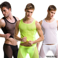 N2N BODYWEAR SHEER TANK ATHLETIC JOCK MUSCLE TANK TOP