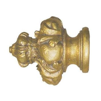 "House Parts Crown Finial For 1 3/8"" Wood Poles"