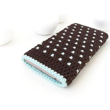 Mint Chocolate iPhone X case, Pixel 2 phone pocket, Samsung J3 pouch, indie Galaxy S9 sleeve, BlackBerry Key2 sock, vegan Huawei P20 cover