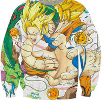 Goku and Shenron Sweatshirt