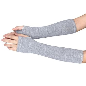 Women's Arm Length Gloves in Three Different Colors
