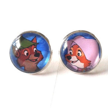 Made To Order - Robin Hood & Maid Marian Earrings
