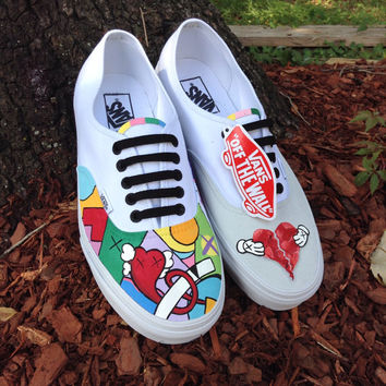 Kanye West 808s & Heartbreak themed Vans