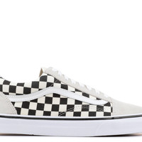 "Old Skool ""CHECKERBOARD"" - Vans - VN0A38G127K - black/espresso 
