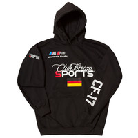 Club Foreign Sports Hoodie Jacket Germany Black