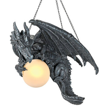 Park Avenue Collection Nights Fury Dragon Lamp