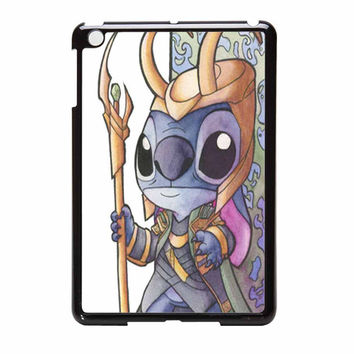 Stitch As Loki And Thor From Asgard 1 iPad Mini Case