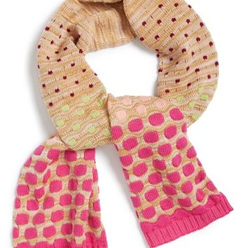 Girl's Missoni Knit Scarf,