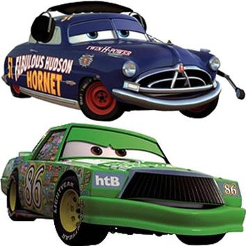 Disney Cars Piston Cup McQueen Accent Wall Stickers