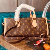 LV High Quality Fashionable Women Shopping Bag Leather Monogram Handbag Tote Shoulder Bag