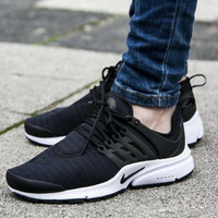 """NIKE"" Presto Women Men Fashion Running Sport Casual Shoes Sneakers Black"