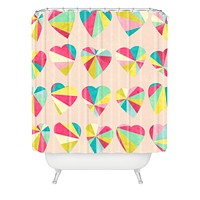 Jacqueline Maldonado Some Hearts Shower Curtain