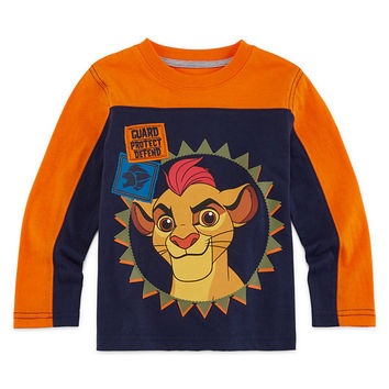 Okie Dokie® Long-Sleeve Lion Guard Tee - Toddler Boys 2t-5t - JCPenney