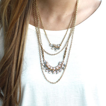Layers Of Shine Necklace
