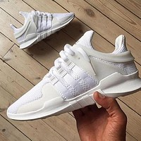 """Adidas"" Equipment EQT Support ADV White Casual Sports Shoes"