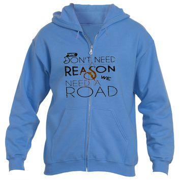 Don't Need a Reason|Heavy Blend™Fleece Zip Hoodie|Underground Statements