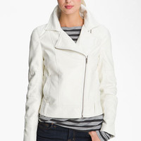 KUT from the Kloth Asymmetrical Zip Faux Leather Jacket | Nordstrom