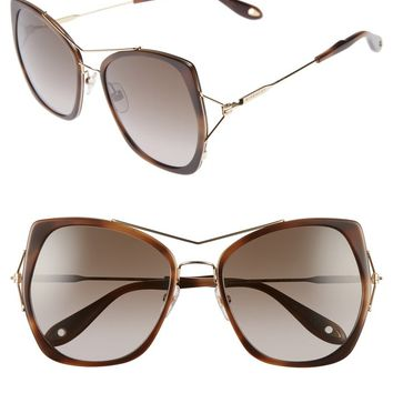 Givenchy 7031/S Airy 55mm Oversized Sunglasses | Nordstrom