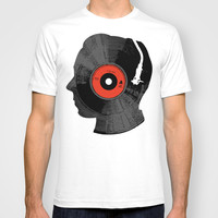 The Song In My Head T-shirt by Budi Satria Kwan