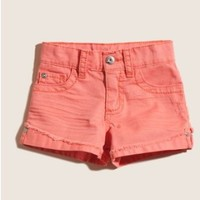 GUESS Colored Denim Tomboy Shorts