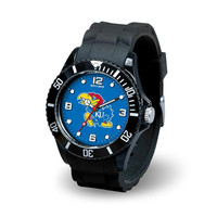 Kansas Jayhawks NCAA Spirit Series Mens Watch