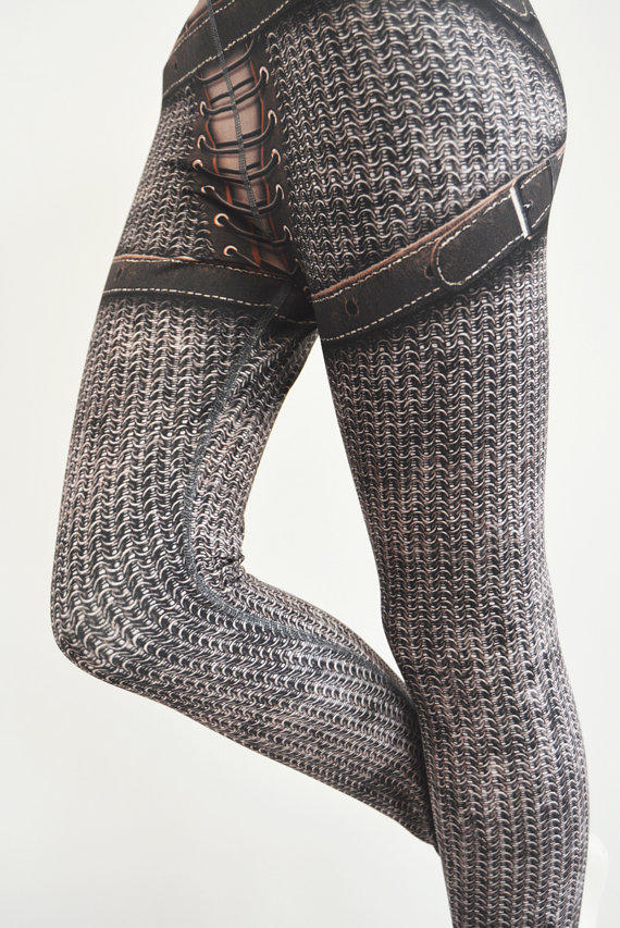 Sample Sale Jeanne Leggings Old Size From Mitmunk On Etsy