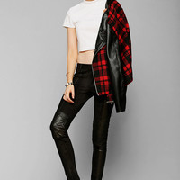 Black Orchid Vegan Leather Moto Pant - Urban Outfitters