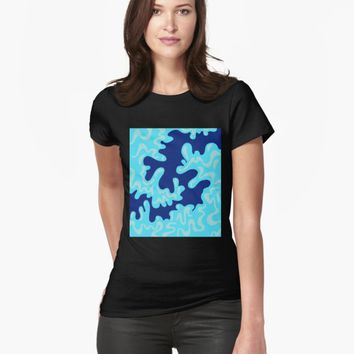 'Wave Surfing' T-shirt by VibrantVibe