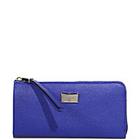 Tod's - Leather Zip Continental Wallet - Saks Fifth Avenue Mobile