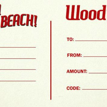 Woodies Gift Card