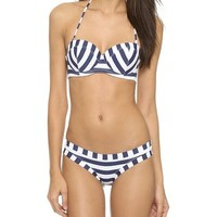 OndadeMar Nautical Spring Bandau Bikini Top