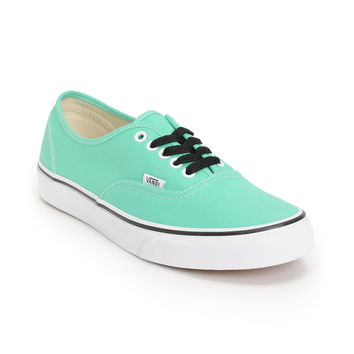 Vans Authentic Mint & True White Shoe