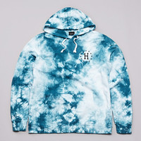 Flatspot - Huf 12 Galaxy Hooded Sweatshirt White / Jade