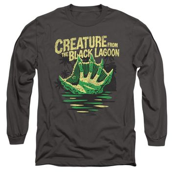 Creature from the Black Lagoon Long Sleeve Hand Charcoal
