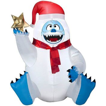 Gemmy® 37179 Airblown® Inflatable Sitting Bumble with Holding Star, 3'