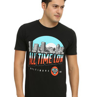 All Time Low Baltimore Skyline T-Shirt