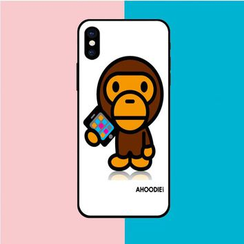 BABY MILO WALLPAPER BAPE IPHONE X