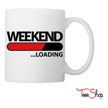 weekend loading f2 Coffee & Tea Mug