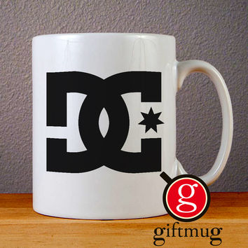DC Shoes Logo Ceramic Coffee Mugs