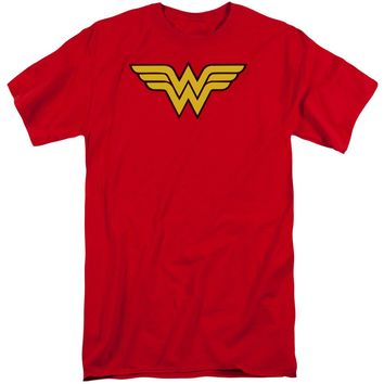 Wonder Woman Logo Short Sleeve Adult Tall